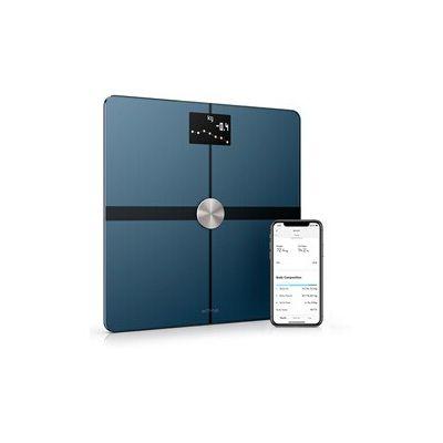 image Withings Body+ - Balance Connectée WiFi et Bluetooth avec Analyse de la Composition Corporelle (Poids, Masse Grasse/Musculaire/Osseuse, d'Eau), Pèse Personne Impédancemètre Multi-Utilisateurs