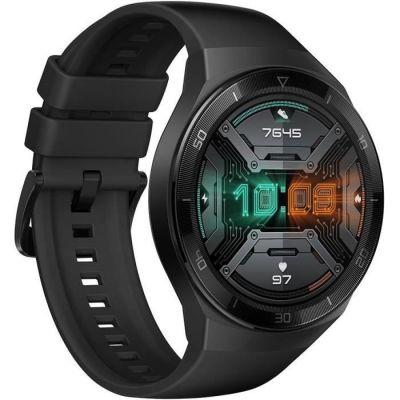 image HUAWEI WATCH GT 2e Montre Connectée, Ecran Tactile AMOLED HD de 1.39 Pouces, Autonomie de 2 Semaines, GPS & GLONASS, Modes D'entrainement Personnalisés, VO2Max, Surveillance du Rythme Cardiaque, Noir