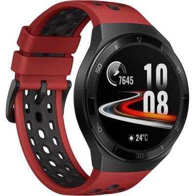 image HUAWEI WATCH GT 2e Montre Connectée, Ecran Tactile AMOLED HD de 1.39 Pouces, Autonomie de 2 Semaines, GPS & GLONASS, Modes D'entrainement Personnalisés, VO2Max, Surveillance du Rythme Cardiaque, Rouge