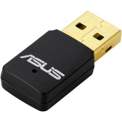 image ASUS - USB Clé Wi-Fi / Adaptateur Wi-FI N300 ASUS - USB-N13 v2 - Revêtement plaqué or