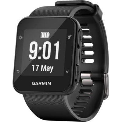 image Garmin Forerunner 35 – Montre GPS de Course à Pied Connectée avec Cardio Poignet - Noir