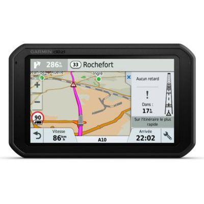 image Garmin DezlCam 785 LMT - GPS Poids Lourds - 7 Pouces - Carte Europe 46 pays – Caméra et Wi-Fi intégrés - TripAdvisor - Appels Mains Libres – Commande vocale