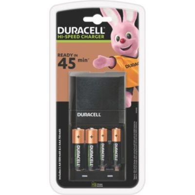 image Duracell Chargeur Piles Rechargeables Rapide 45 minutes