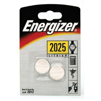 image ENERGIZER 2 piles Lithium CR2025