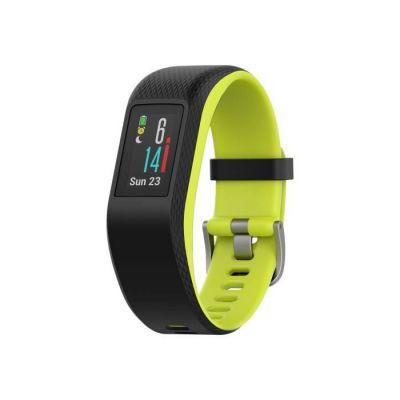 image Garmin Vivosport - Bracelet de Sport avec GPS et Cardio Poignet - Taille L - Noir/Citron Vert