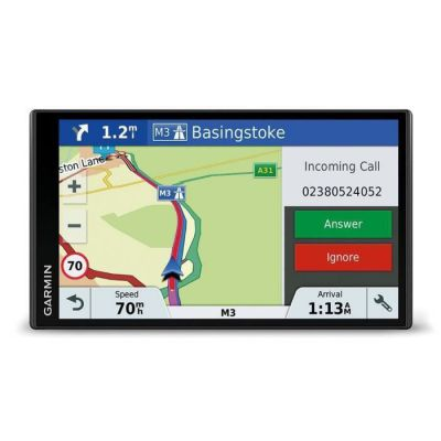 image produit Garmin - DriveSmart 61 LMT-S - GPS Auto - 6,95 pouces - Cartes Europe 46 pays - Cartes, Trafic, Zones de Danger gratuits à vie - livrable en France