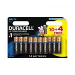 image produit Lot de 14 Piles Duracell Ultra Power MX1500 - Type AA Alcaline