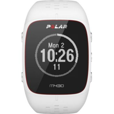 image Polar - M430 - Montre Running GPS avec suivi de la Fréquence Cardiaque - Blanc - Taille M-L