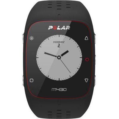 image Polar - M430 - Montre Running GPS avec suivi de la Fréquence Cardiaque - Noir - Taille M-L