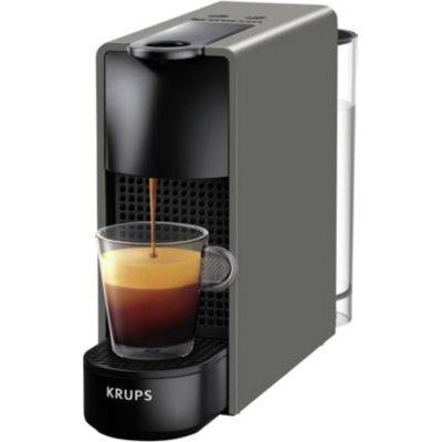 image KrupsEssenza Mini Intense grey Nespresso machine à café Nespresso Cafetière expresso Ultra compact automatiqueYY2911FD