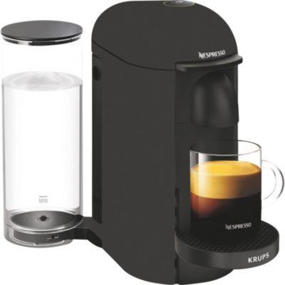 image Nespresso Krups Machine Expresso Vertuo Plus Noir Mat, Machine à Café, Cafetière Expresso, 5 Tailles de Tasses, 1,8L YY3922FD