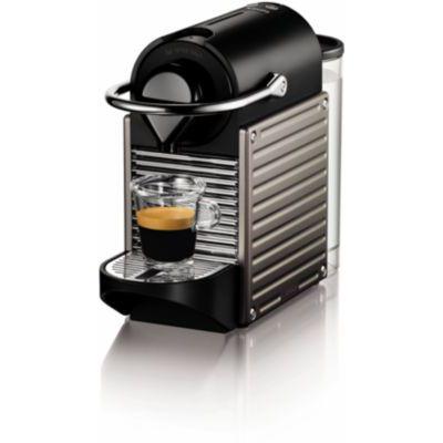 image KRUPS - YY4127FD - Machine expresso Nespresso - PIXIE TITANE- Cafetière à dosettes - Machine à café - Cafetière expresso