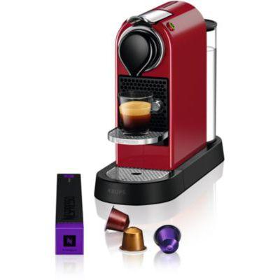 image Nespresso Krups CITIZ ROUGE YY4117FD