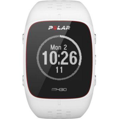 image Polar - M430 - Montre Running GPS avec suivi de la Fréquence Cardiaque - Blanc - Taille S