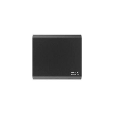 image produit PNY Pro Elite CS2060 - SSD Externe Portable 250 Go en USB 3.1 Gen2 Type-C - 900 Mo/S