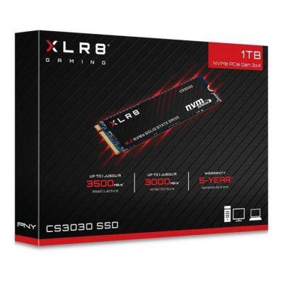 image PNY XLR8 CS3030 M.2 NVMe SSD Interne 1TB - Jusqu'à 3500 Mo/s