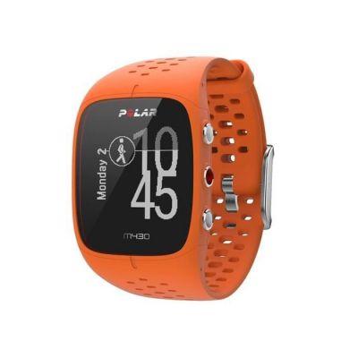 image Polar - M430 - Montre Running GPS avec suivi de la Fréquence Cardiaque - Orange - Taille M-L