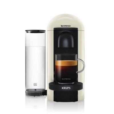 image Nespresso Krups Machine Expresso Vertuo Plus Blanc, Machine à Café, Cafetière Expresso, 5 Tailles de Tasses, 1,2L YY3916D