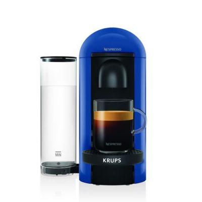 image Nespresso Vertuo - Machine à café à capsules pour espresso ou café long - de 40 ml à 410 ml - Bleu Marine - Krups YY4228FD