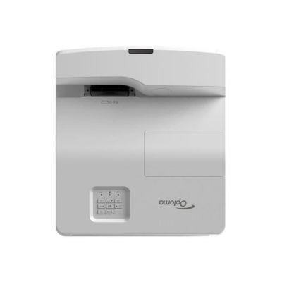 image OPTOMA Projecteur DLP EH330UST - 3D - 3600 lumens - Full HD (1920 x 1080) - 16:9 - 1080p - Objectif à ultra courte focale - LAN