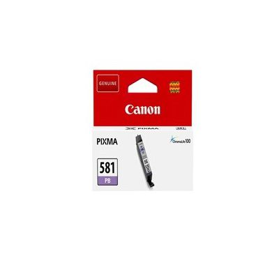 image Canon CLI-581 Cartouche PB Photo Bleu (Emballage carton)