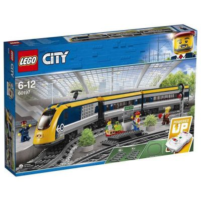 image produit LEGO City - Le train de passagers télécommandé - 60197 - Jeu de Construction - livrable en France