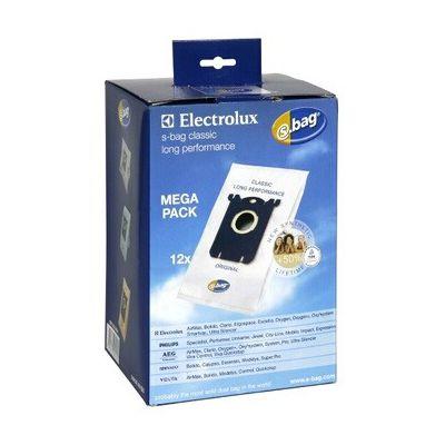 image Electrolux E201SM Accessoires Aspirateur S-Bag Classic Long Performance 12 Sacs Synthétique Méga Pack