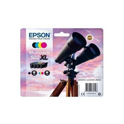 image Epson C13T02W64010 Encre (4) Approprié pour XP5100 Multicolore 1x 9, 2ml Noir + 3x 6, 4ml Couleur