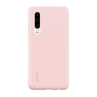 image Coque smartphone Huawei coque en silicone rose pour smartphone huawei P30