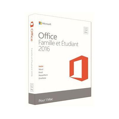image Logiciel Microsoft Office Mac Home Student 2016