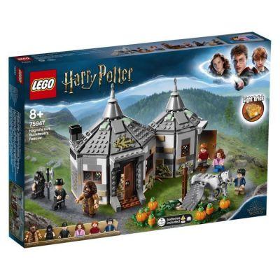 image produit LEGO Harry Potter et le Prisonnier d'Azkaban, la Cabane de Hagrid : le Sauvetage de Buck , 75947 – Kit de Construction, 496 Pièces - livrable en France