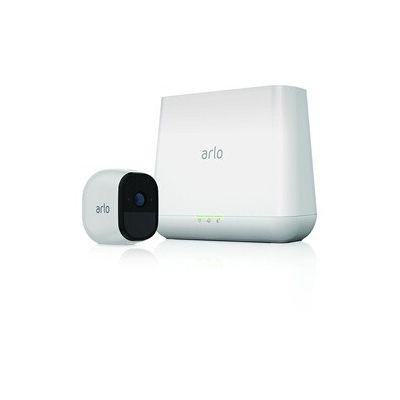 image Arlo Pro VMS4130-100EUS Caméra de surveillance 100% Sans Fils Pack de 1 Batterie rechargeable Son bidirectionnel 720p Jour/Nuit Etanche IP65 Intérieur/Extérieur