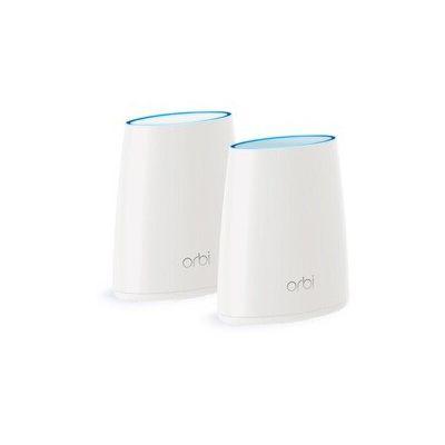image NETGEAR Orbi RBK40-100PES Solution WifiMultiroom MESH Unique - 44 Gigabit pour 250m² de Couverture Wifi - Compatible avec Alexa