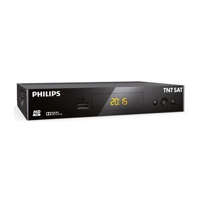 image PHILIPS - TNT SAT DSR3231T Récepteur TV HD Satellite - Noir