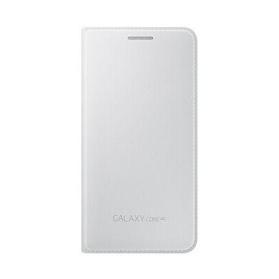 image Samsung EF-WG386BW Etui à Rabat Galaxy Core 4G G386 Blanc