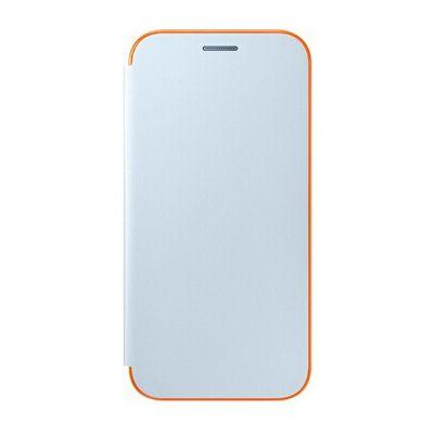 image Coque smartphone Samsung ETUI FLIP NEON BLEU POUR SAMSUNG GALAXY A3 2017