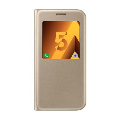image Samsung EF-CA520PF Etui à Rabat pour Galaxy A5 Or