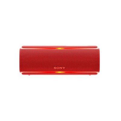 image Sony SRS-XB21 Enceinte portable sans fil Bluetooth Waterproof avec effet lumineux - Rouge