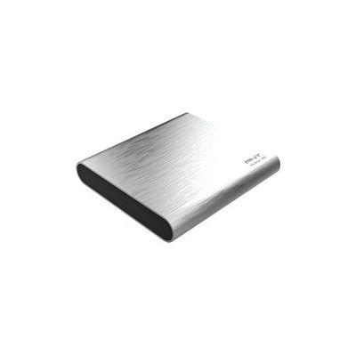 image PNY Pro Elite CS2060 - SSD Externe Portable 1 To en USB 3.1 Gen2 Type-C - 880 Mo/S - Gris Brush