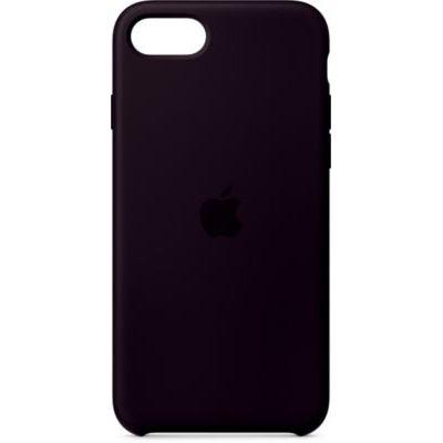 image Apple Coque en silicone (pour iPhone SE) - Noir