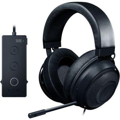 image Razer Kraken Tournament Edition - Casque de Jeu Esports avec Contrôleur Audio USB, THX Spatial Audio, pilote 50 mm, Compatibilité Multiplateforme, Noir
