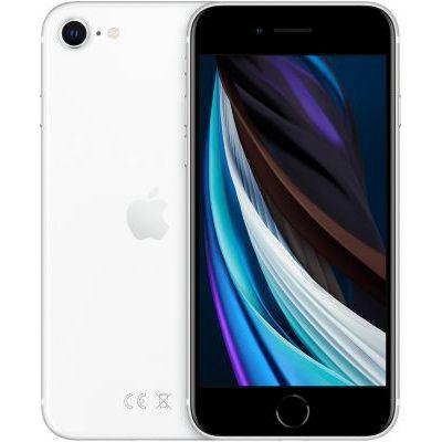 image Apple iPhone SE (256Go) - Blanc (Comprend EarPods, Câble Lightning vers USB, Adaptateur Secteur USB)(Comprend EarPods, Câble Lightning vers USB, Adaptateur Secteur USB)