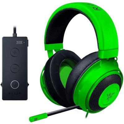 image Razer Kraken Tournament Edition - Casque d'Écoute de Jeu à Esports Câblés avec Contrôle Audio Complet et son Spatial THX