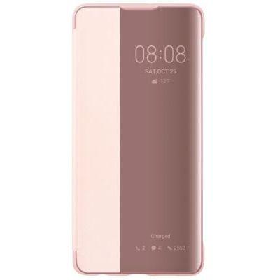 image Etui Huawei P30 View Flip rose