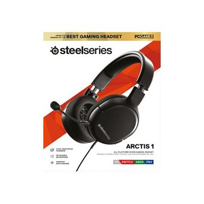 image Casque Gaming SteelSeries Arctis 1 - Compatibilité toutes plateformes