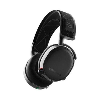 image SteelSeries Arctis 5 - Casque de Jeu à Éclairage RVB - Son Surround DTS Headphone:X v2.0 pour PC et PlayStation 4 - Noir
