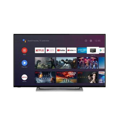 image TOSHIBA 55UA3A63DG TV 4K UHD - 55- (139cm) - Dolby Vision HDR - Chromecast - Android Tv - 4xHDMI - xUSB - Classe énergétique A+