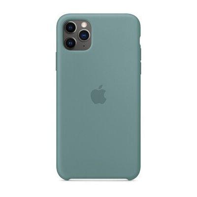 image Apple Coque en Silicone (pour iPhone 11 Pro Max) - Cactus