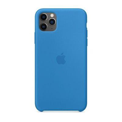 image Apple Coque en Silicone (pour iPhone 11 Pro Max) - Bleu Surf