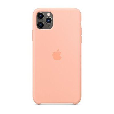 image Apple Coque en Silicone (pour iPhone 11 Pro Max) - Pamplemousse